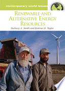 Renewable and Alternative Energy Resources Book