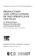 Production and Applications of Polypropylene Textiles