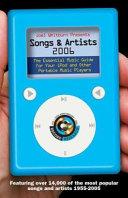 Joel Whitburn Presents Songs   Artists 2006