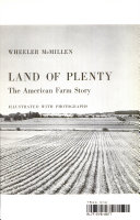 Land of Plenty the American Farm Story Book