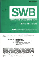 Summary of World Broadcasts ebook