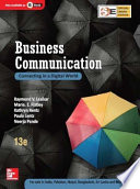 """Business Communication (SIE)"" by Raymond V. Lesikar (Late), Marie E. Flatley, Kathryn Rentz;, Paula Lentz; Neerja Pande"