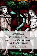 Pdf Aquinas, Original Sin, and the Challenge of Evolution