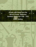People and Things from the Blount County  Alabama Southern Democrat 1928   1933