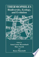 Thermophiles  Biodiversity  Ecology  and Evolution Book