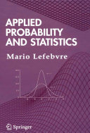 Applied Probability and Statistics