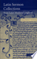 Latin Sermon Collections From Later Medieval England