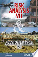 Risk Analysis VII   Brownfields V Book