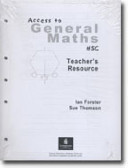 Access to General Maths HSC Teacher Pack