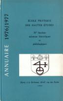 Annuaire 1976 - 1977