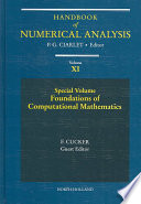 Special Volume Foundations Of Computational Mathematics Book PDF