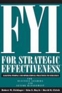 FYI for Strategic Effectiveness Book