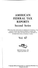 American Federal Tax Reports