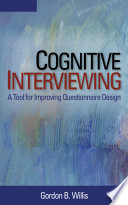 Cognitive Interviewing