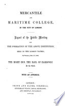 Mercantile and Maritime College in the City of London