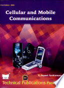 """""""Cellular and Mobile Communications"""" by V.Jeyasri Arokiamary"""