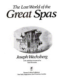 The Lost World of the Great Spas Pdf/ePub eBook