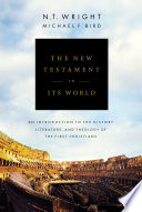 The New Testament in Its World Book