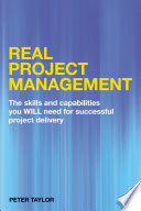 Real Project Management Book