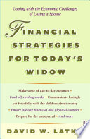 Financial Strategies For Today S Widow