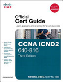 CCNA ICND2 640 816 Official Cert Guide