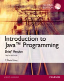 Cover of Intro to Java Programming, Brief Version, Global Edition