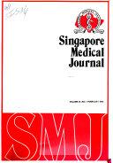 Singapore Medical Journal Book PDF