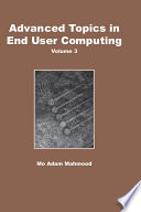 Advanced Topics in End User Computing  Volume 3