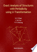 Exact Analysis of Structures with Periodicity Using U Transformation