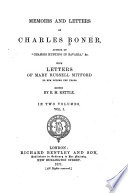 Memoirs and Letters of Charles Boner