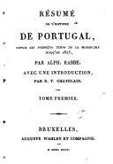 Résumé de l'histoire de Portugal