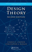 Design Theory, Second Edition