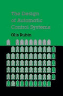 The Design of Automatic Control Systems Book