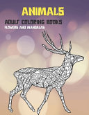 Adult Coloring Books Flowers and Mandalas   Animals
