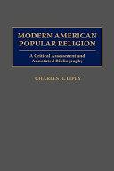 Modern American Popular Religion