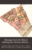 Message from the Mayor, Defining the Election District Divisions and Boundaries