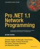 Pro  NET 1 1 Network Programming