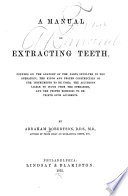 A Manual on Extracting Teeth ...