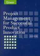 Project Management for Successful Product Innovation Book