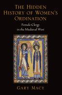 The Hidden History of Women's Ordination Pdf/ePub eBook