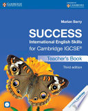 Success International English Skills For Cambridge Igcse Teacher S Book With Audio Cd