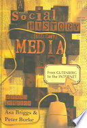 Cover of A Social History of the Media