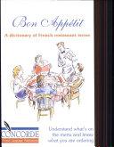 Bon Appetit Dictionary of French Restaur