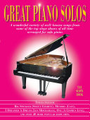 Great Piano Solos  The Show Book