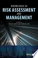 Knowledge In Risk Assessment And Management