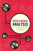 Intelligence Analysis Book PDF