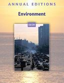Annual Editions Environment 08 09 Book PDF