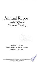Annual Report of the Office of Revenue Sharing