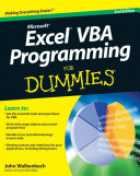 Excel VBA Programming For Dummies[sup]174;[/sup].