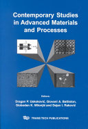 Contemporary Studies in Advanced Materials and Processes